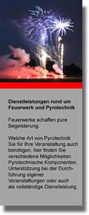 Feuerwerk & Pyrotechnik
